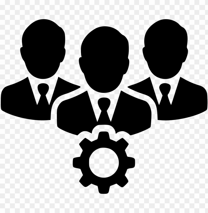 free PNG picture freeuse library people users gear svg  icon - gears people icon png - Free PNG Images PNG images transparent
