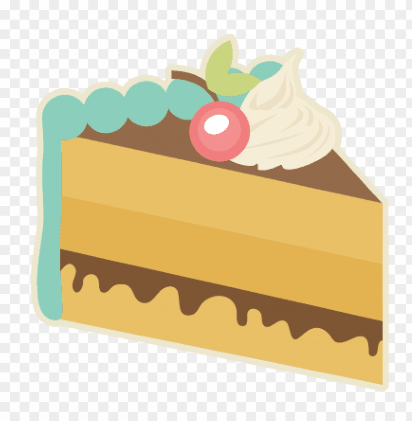 free PNG piece of cake svg cutting files for scrapbooking slice - cake slice PNG image with transparent background PNG images transparent