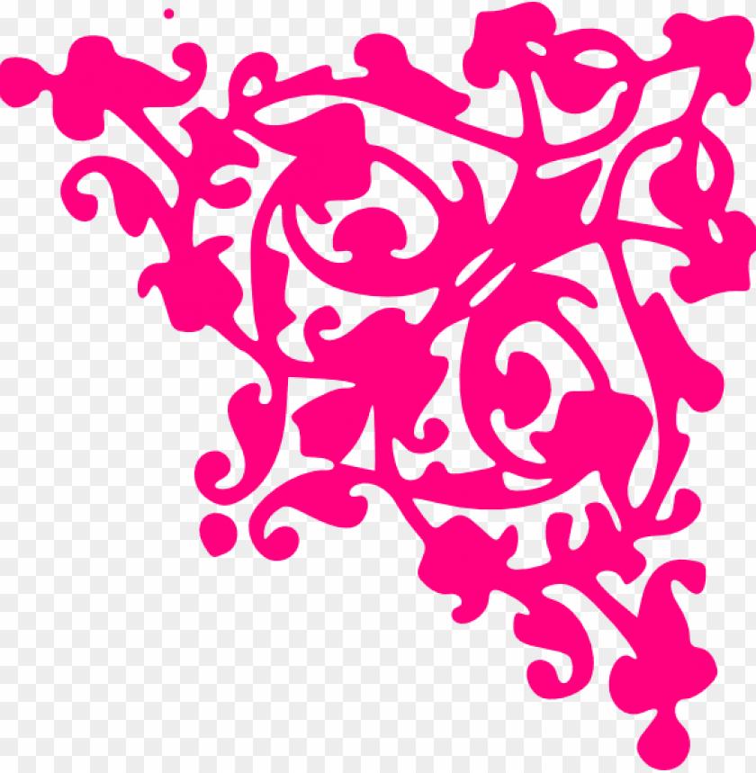 free PNG pink corner border PNG image with transparent background PNG images transparent