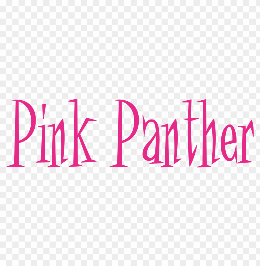 free PNG Download pink panther logo clipart png photo   PNG images transparent