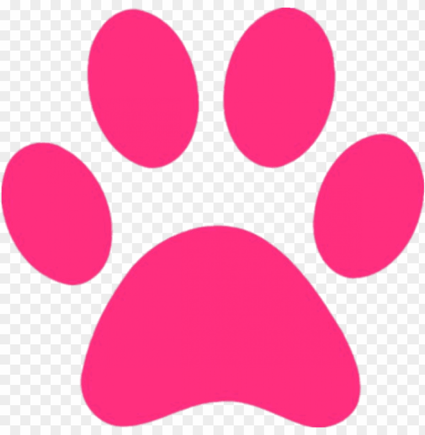 free PNG Download pink panther paw print clipart png photo   PNG images transparent