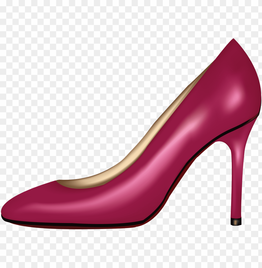 free PNG Download pink women shoe clipart png photo   PNG images transparent