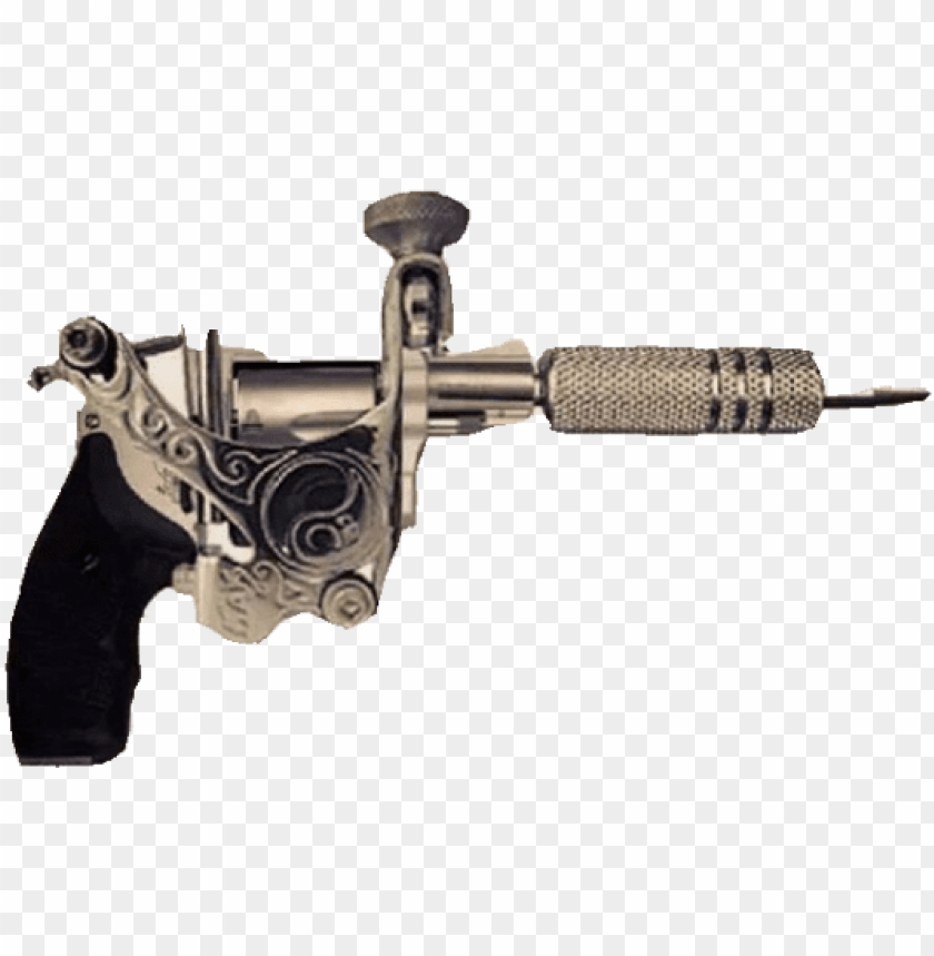 free PNG #пистолет #татумашинка #тату #татуировки #tattoo #tattoos - tattoo gun tattoo PNG image with transparent background PNG images transparent