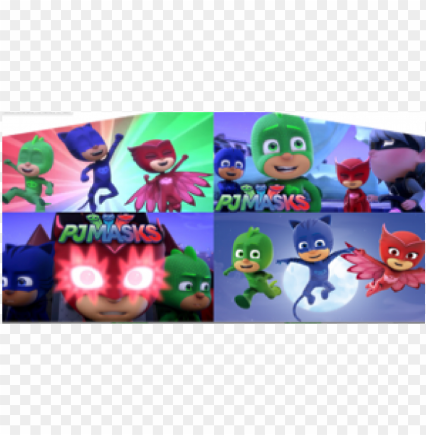 free PNG pj masks moon edible frosting cake topper 1/4 sheet* PNG image with transparent background PNG images transparent