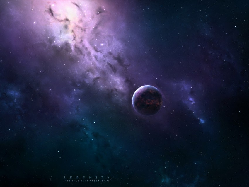 free PNG planet, space, stars, milky way, shine, dark background PNG images transparent