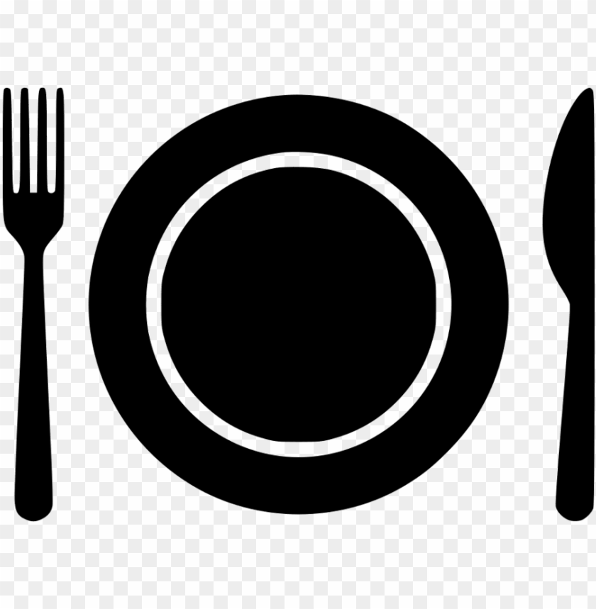 free PNG plate icon fork- plate and fork icon png - Free PNG Images PNG images transparent