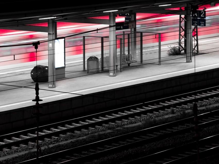 free PNG platform, station, railway, rails, terminal background PNG images transparent