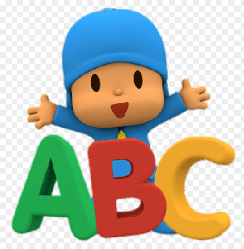 free PNG Download pocoyo abc clipart png photo   PNG images transparent
