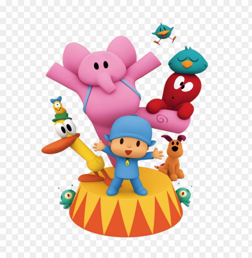 free PNG Download pocoyo circus clipart png photo   PNG images transparent