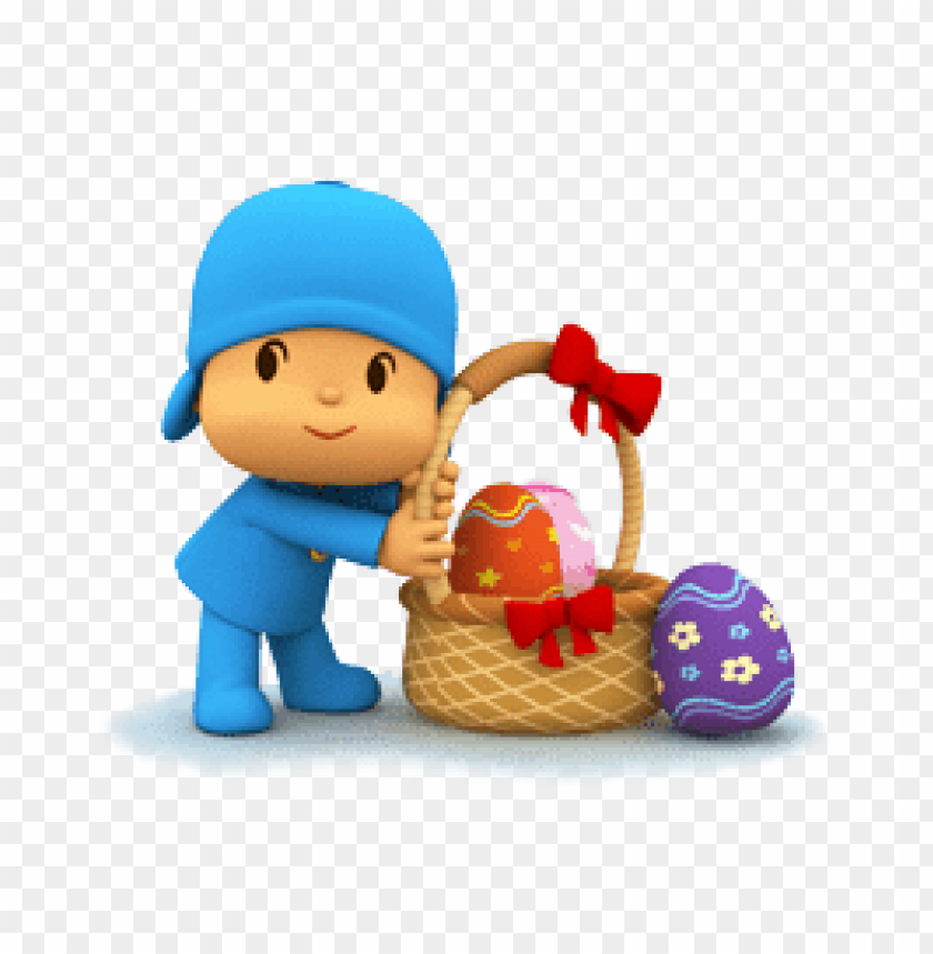 free PNG Download pocoyo easter fun clipart png photo   PNG images transparent