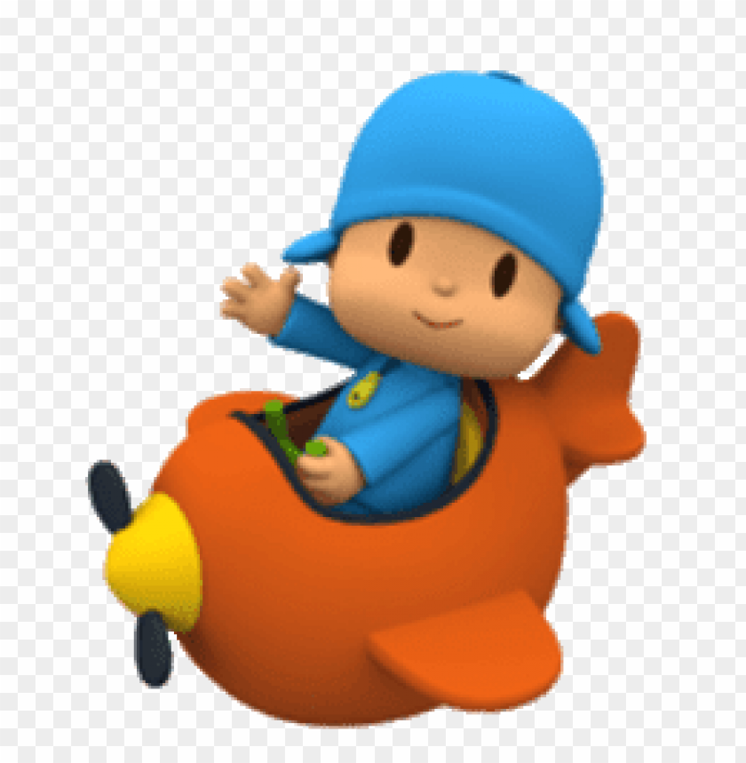 free PNG Download pocoyo in plane clipart png photo   PNG images transparent