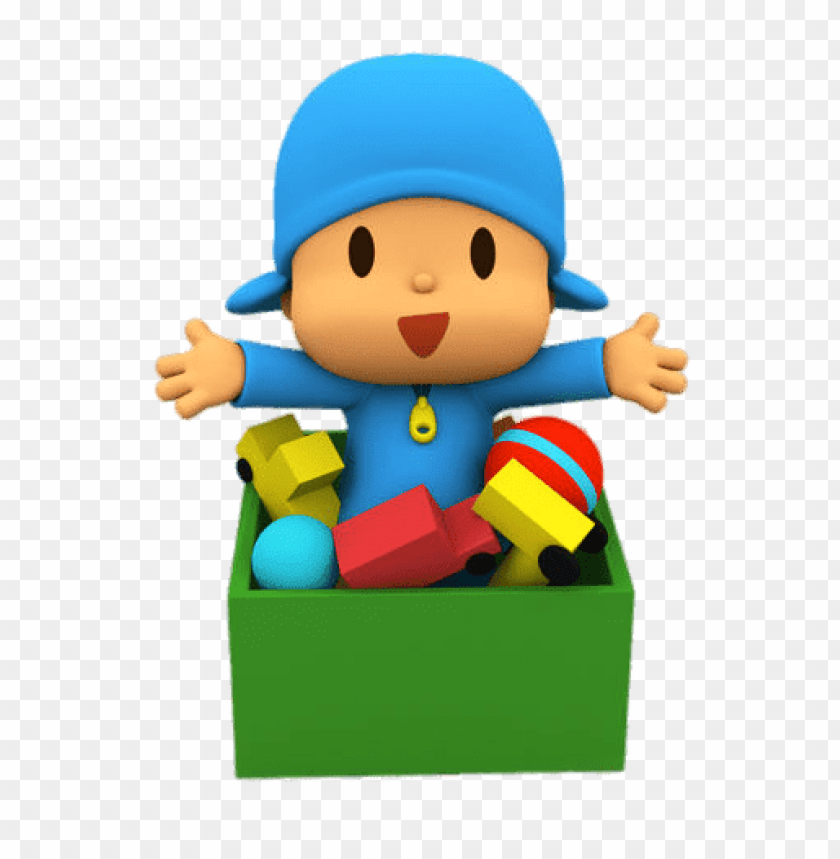 free PNG Download pocoyo in toy box clipart png photo   PNG images transparent