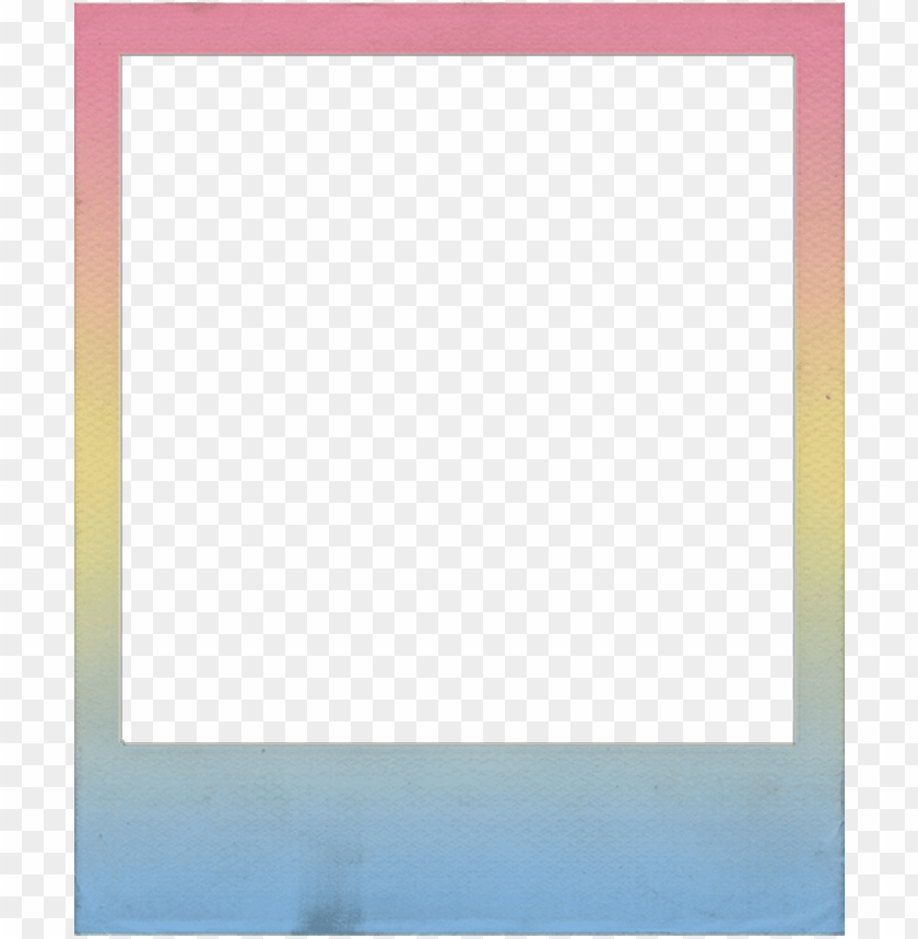 Polaroid Colorful Cute Tumblr Frame Rainbow Colored Polaroid Frame Png Image With Transparent Background Toppng Download the free graphic resources in the form of png, eps, ai or psd. colored polaroid frame png image with