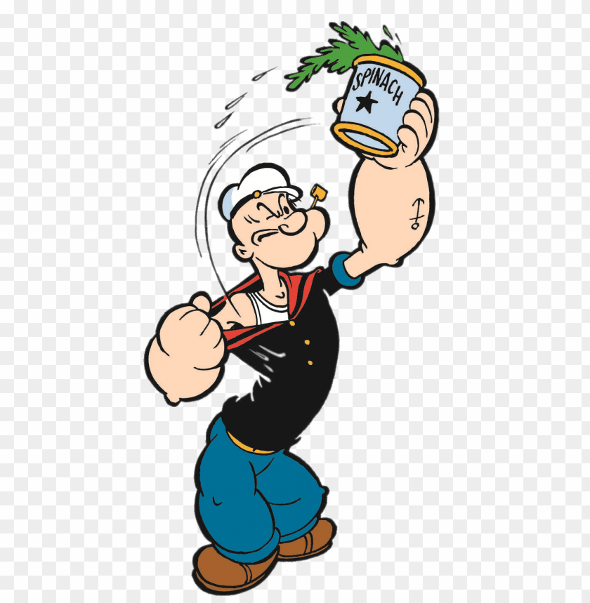 free PNG Download popeye with can of spinach clipart png photo   PNG images transparent
