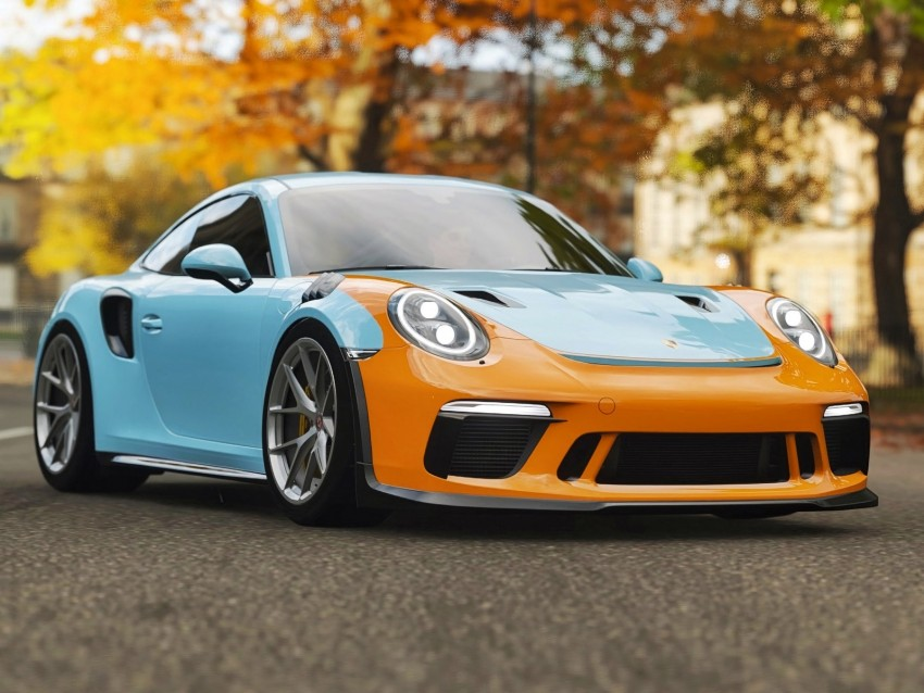free PNG porsche 911 gt3, porsche, sports car, racing background PNG images transparent