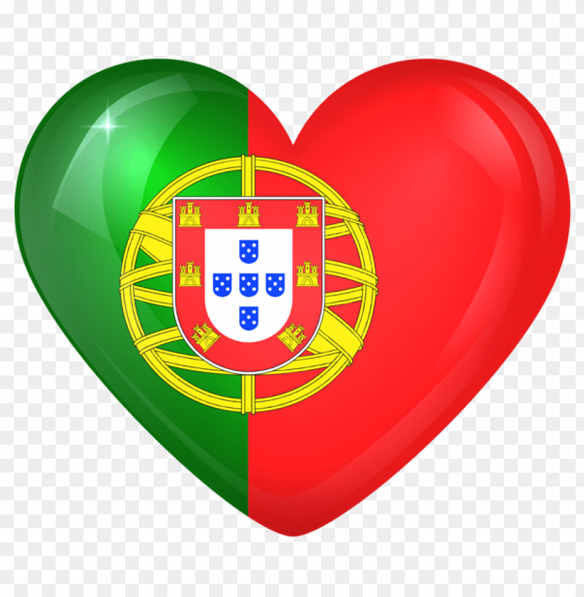 free PNG Download portugal large heart flag clipart png photo   PNG images transparent