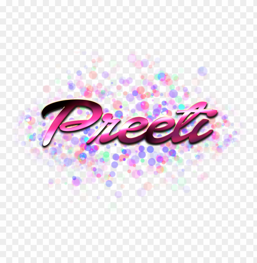 free PNG Download preeti name logo bokeh png png images background PNG images transparent