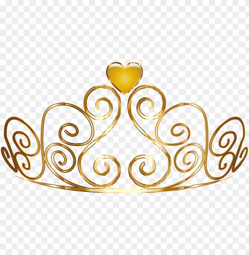 free PNG princess crown transparent princess crown - gold princess crown PNG image with transparent background PNG images transparent