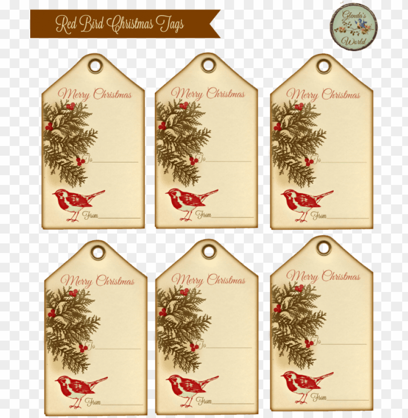 free PNG printable vintage gift tags christmas PNG image with transparent background PNG images transparent