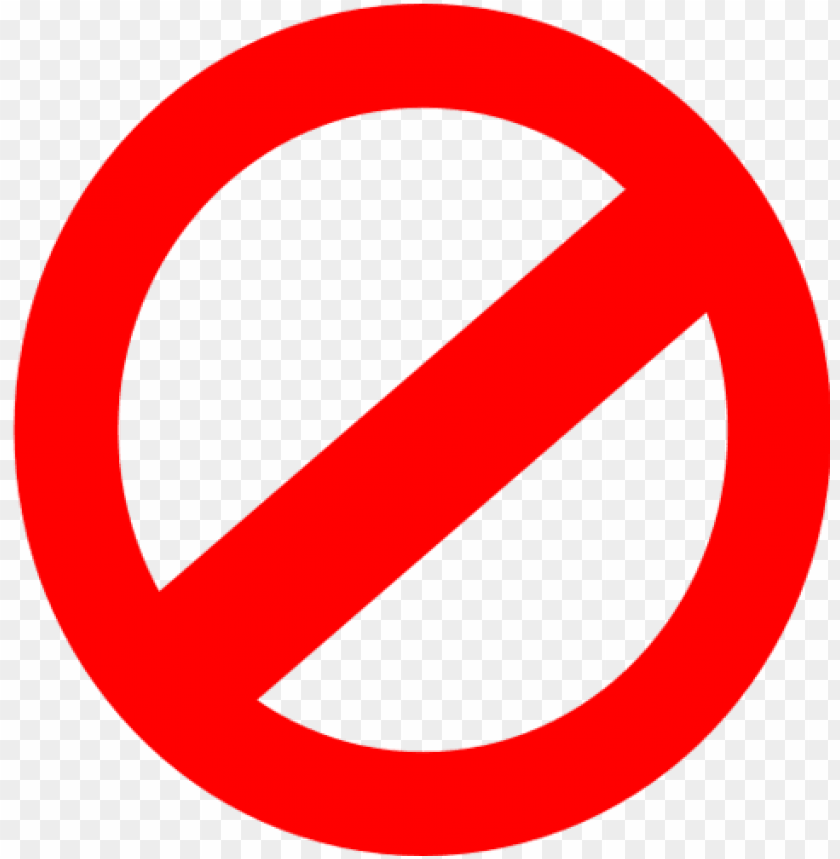 free PNG prohibited PNG image with transparent background PNG images transparent