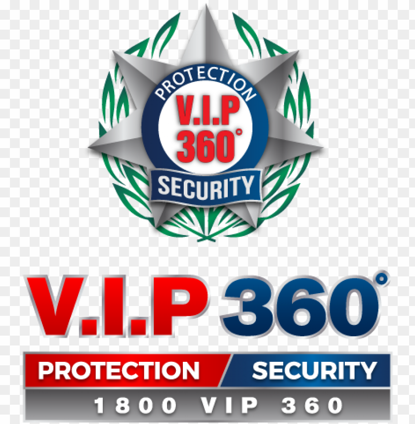 free PNG protection & 360 degree security now - logo of vip security PNG image with transparent background PNG images transparent