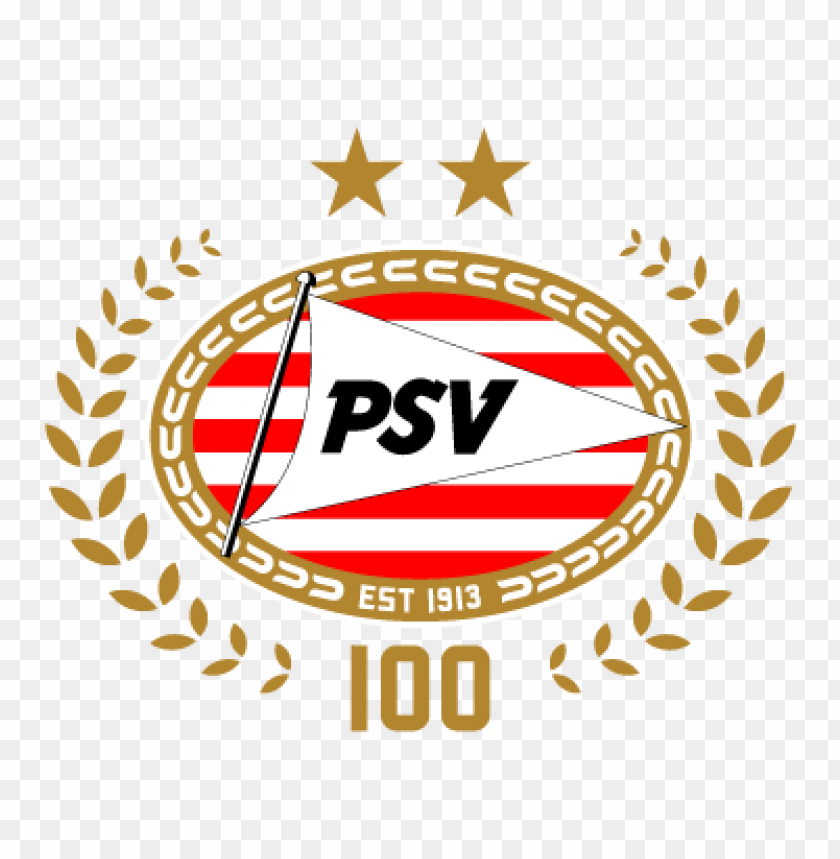 free PNG psv eindhoven (100 years) vector logo PNG images transparent