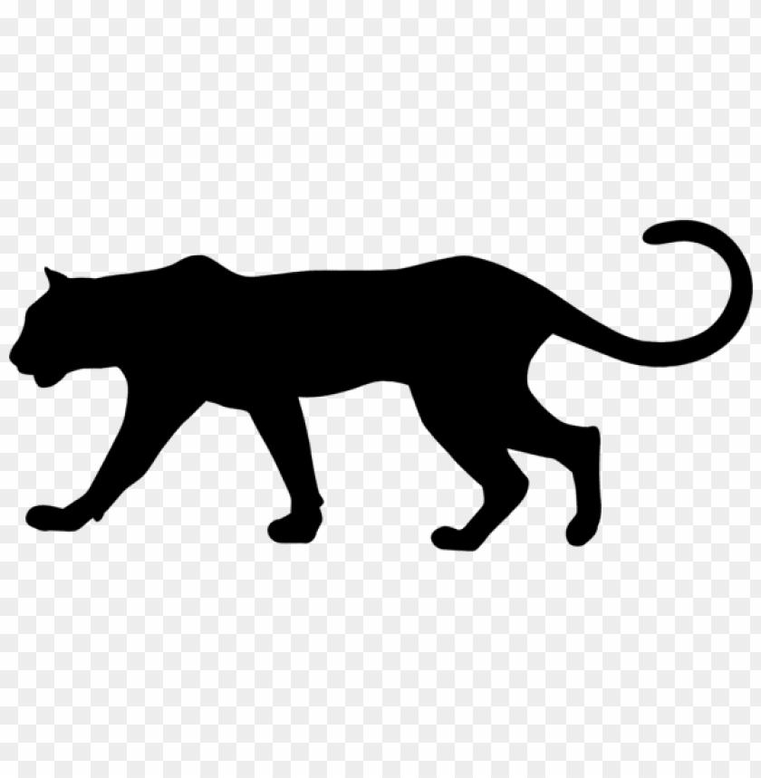 vistazo Orbita apretón  puma silhouette png - Free PNG Images | TOPpng