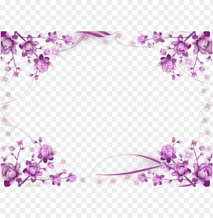 Purple Border Frame Png Free Png Images Toppng
