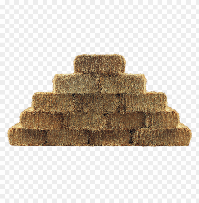 free PNG pyramid of straw bales PNG image with transparent background PNG images transparent