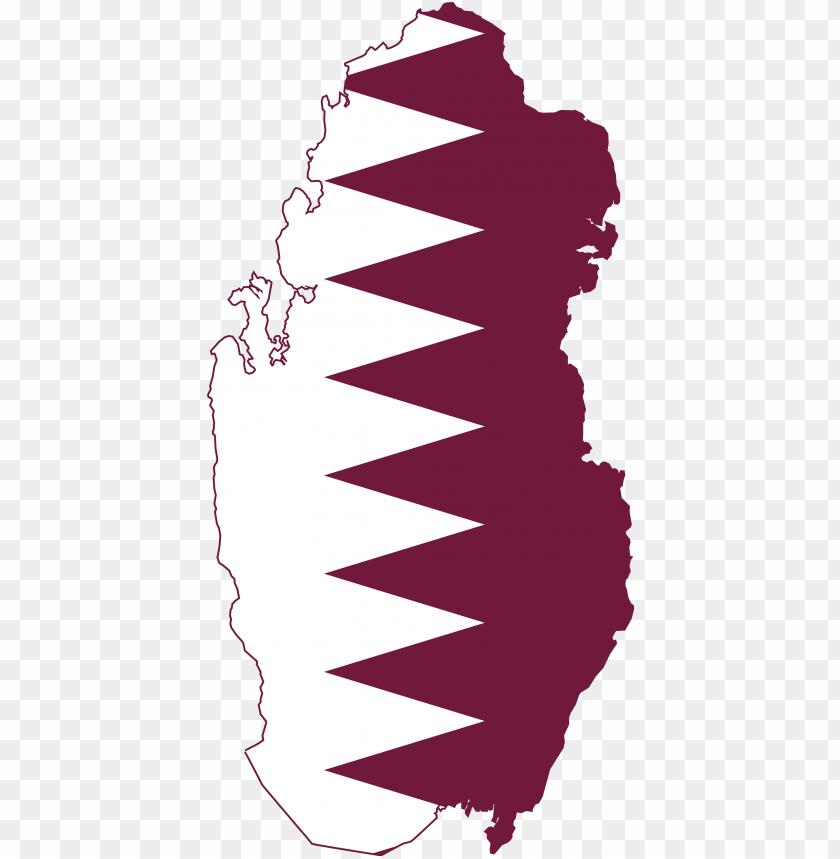 free PNG qatar flag png image background - flag map of qatar PNG image with transparent background PNG images transparent