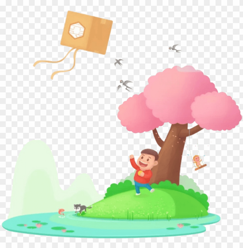 free PNG qingming airplane kite cold food festival - qingming airplane kite cold food festival PNG image with transparent background PNG images transparent