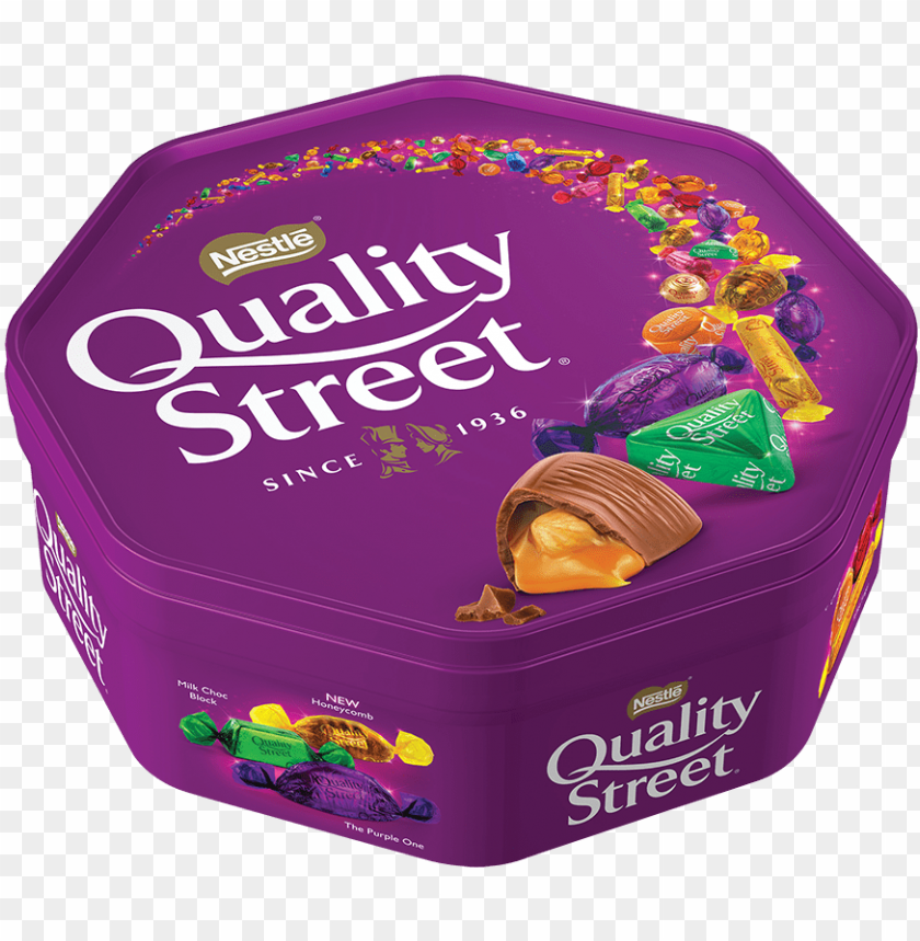 free PNG qs group sweet image quality street 750g tub - quality street chocolates PNG image with transparent background PNG images transparent