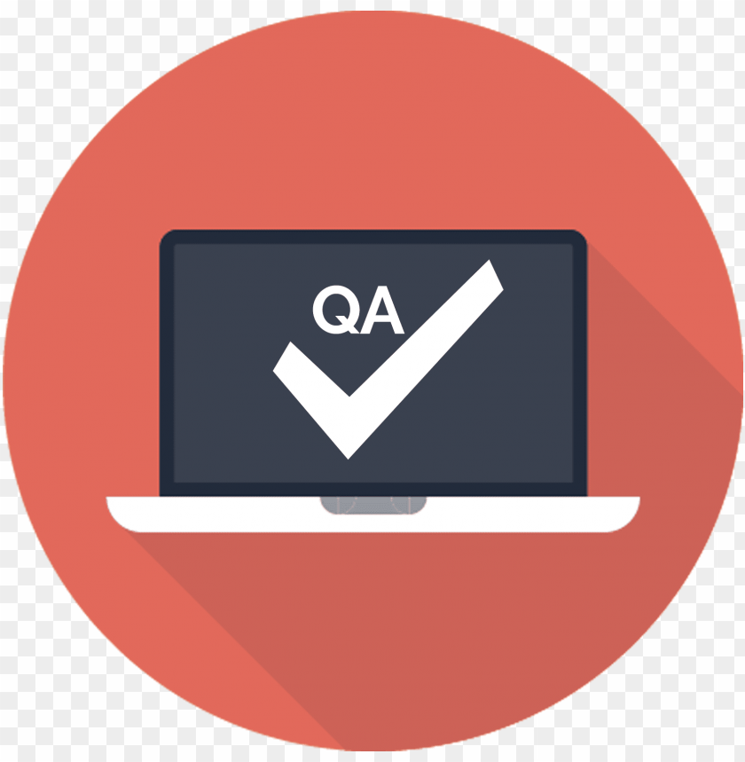 free PNG quality assurance free png image - laptop flat icon PNG image with transparent background PNG images transparent