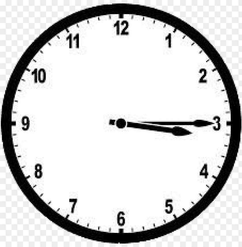 free PNG quarter past three analogue clock PNG image with transparent background PNG images transparent