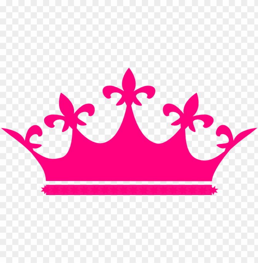 free PNG queen crown hot pink clip art - queen crown vector PNG image with transparent background PNG images transparent