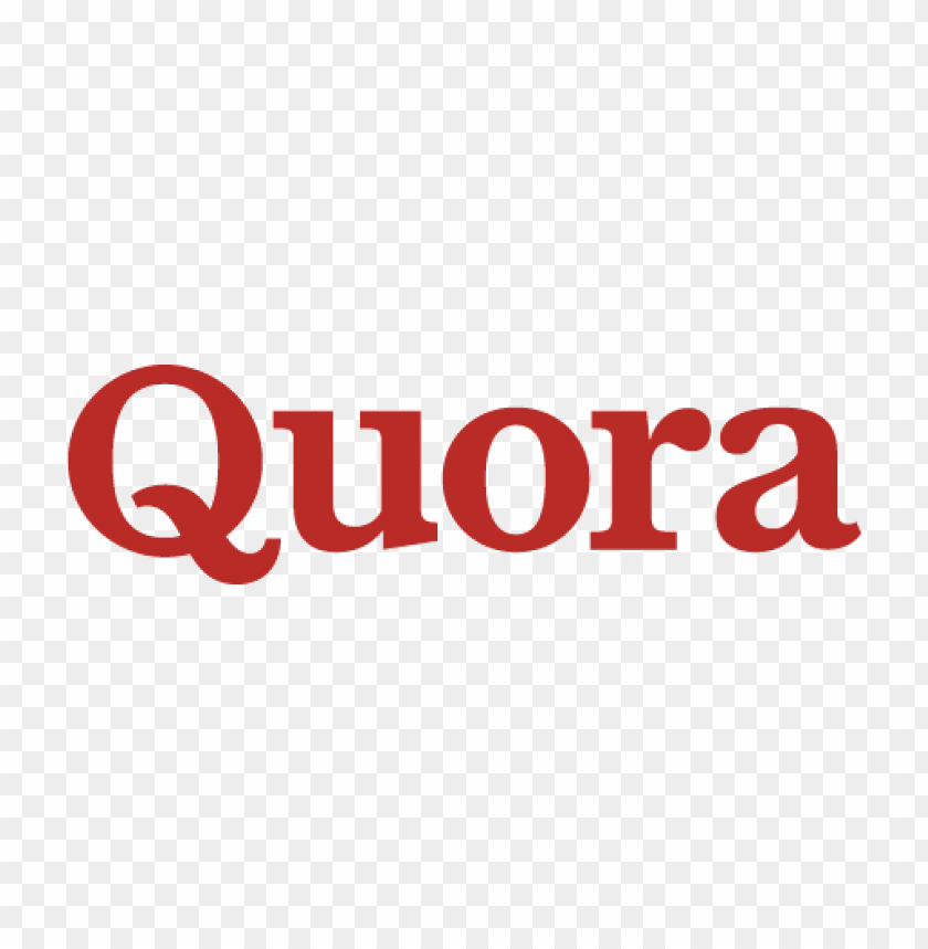free PNG quora logo vector PNG images transparent