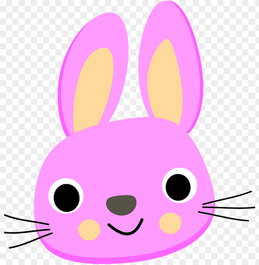 free PNG rabbit cartoon images image group - rabbit head clipart PNG image with transparent background PNG images transparent