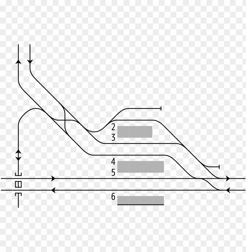 free PNG rail tracks map meitetsu chiryū station - diagram PNG image with transparent background PNG images transparent