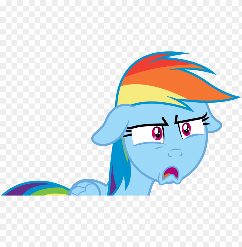 free PNG rainbow dash shocked face PNG image with transparent background PNG images transparent