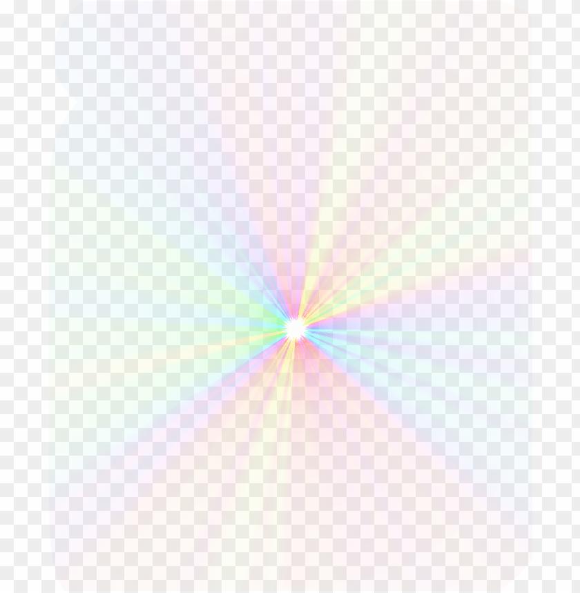 free PNG rainbow sticker - png efeito de luz PNG image with transparent background PNG images transparent