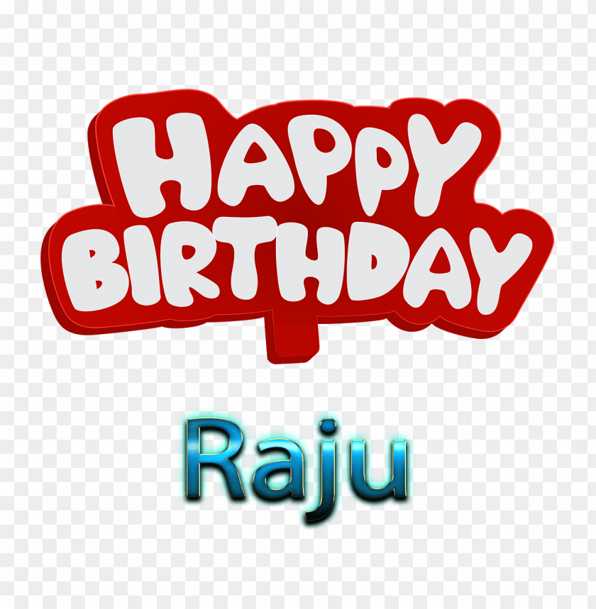 raju 3d letter png name