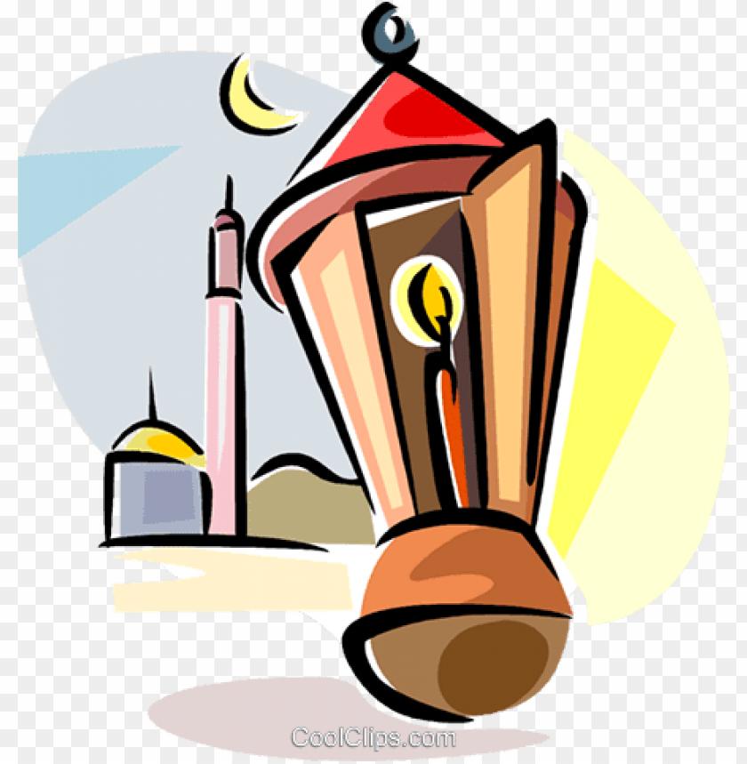 free PNG ramadan lantern royalty free vector clip art illustration - ramadan lantern png transparent PNG image with transparent background PNG images transparent