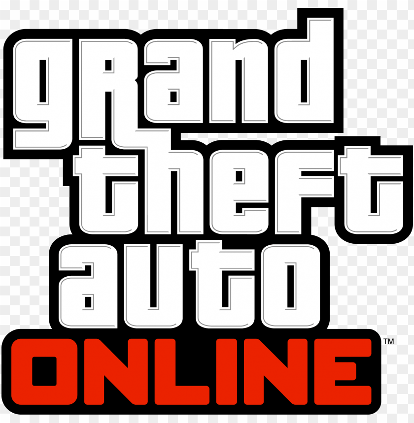 free PNG rand theft auto online logo - grand theft auto v [ps3 game] PNG image with transparent background PNG images transparent