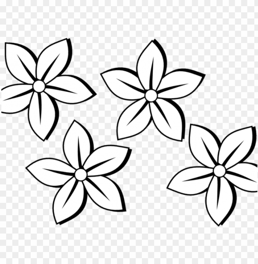 free PNG raphic black and white flower tattoos free download - black and white clip art flowers PNG image with transparent background PNG images transparent
