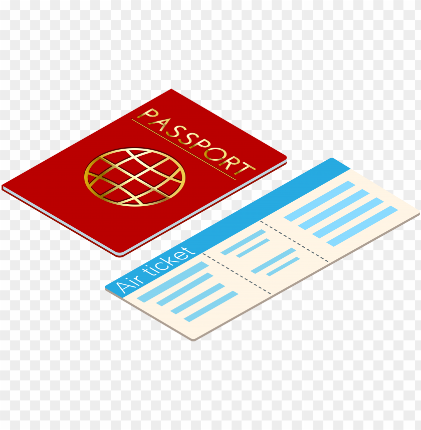 free PNG raphic library and ticket transparent clip art gallery - transparent background passport clipart PNG image with transparent background PNG images transparent