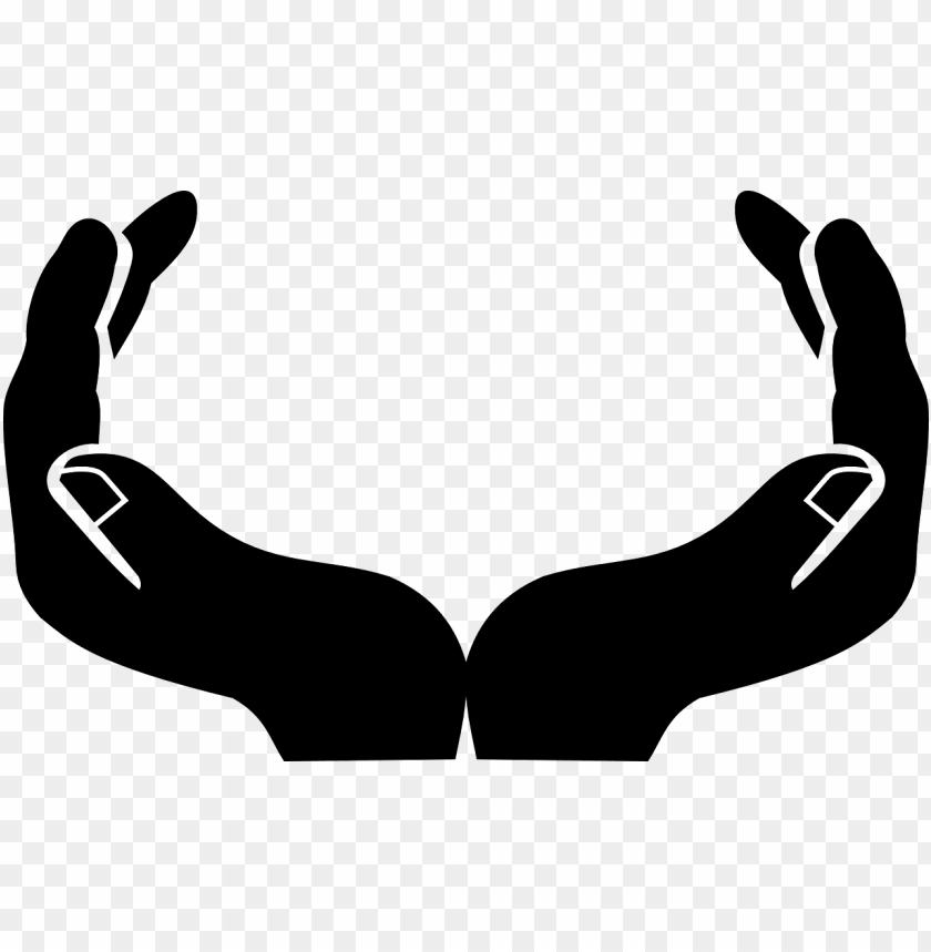 free PNG raphic transparent stock hands svg open - open hands clip art PNG image with transparent background PNG images transparent