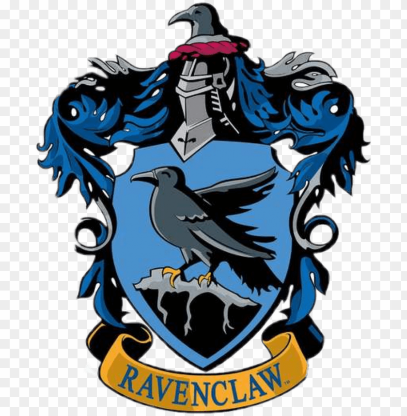 free PNG ravenclaw sticker - hogwarts house crest ravenclaw PNG image with transparent background PNG images transparent
