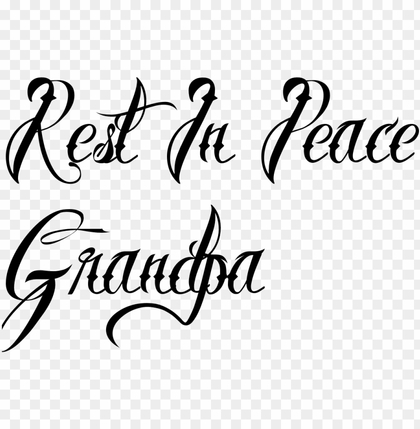 free PNG raveyard clipart rest in peace - rest in peace writi PNG image with transparent background PNG images transparent