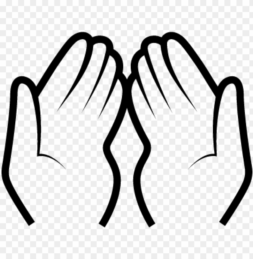 free PNG raying hands clipart png dua hands ⋆ free vectors, - dua hands transparent PNG image with transparent background PNG images transparent