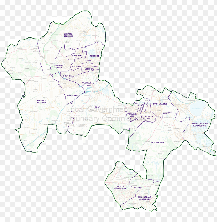free PNG rbwm ward map plain - creative arts PNG image with transparent background PNG images transparent